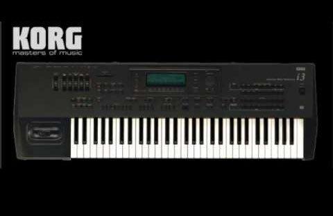 【名人樂器全館免運】KORG I3 電子琴