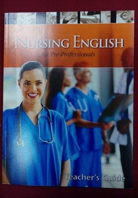Nursing English for Pre-professionals (含1片光碟)免運