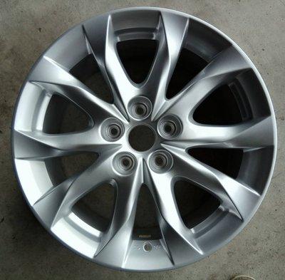 ╭☆輪鋪☆╯全新 MAZDA 馬自達原廠式樣鋁圈 17吋5孔114.3 馬3/馬5/馬6/CX3/CX5 銀色