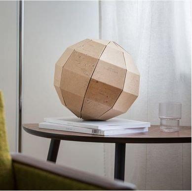 德國DONKEY我的環球之旅.地球儀(My travel globe - Paper Globe)
