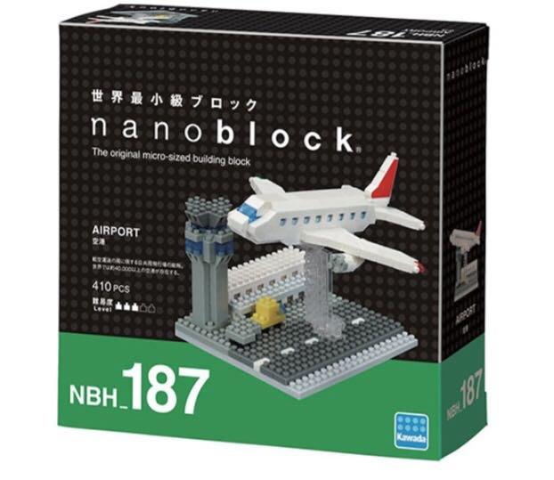 Nano Block 迷你積木~NBH_187機場