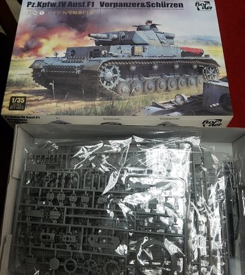 Border-BT-003-1/35-German-Pz.Kpfw.IV Ausf.F1-加3元-M-250