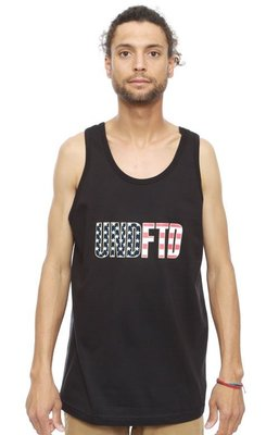 ☆AirRoom☆【現貨】UNDEFEATED NEVER BACK DOWN TANK 背心 黑 5930729