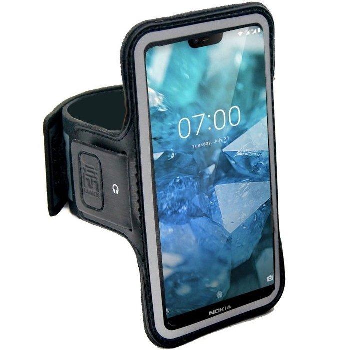 KAMEN Xction 甲面 X行動 Nokia 8.1 6.18吋c 路跑運動臂套 運動臂帶 運動手臂套