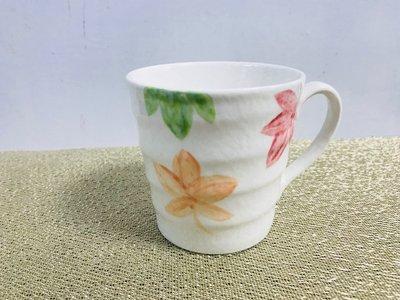 【無敵餐具】台灣陶瓷楓葉馬克杯(280cc)拿鐵咖啡/飲品杯/拿鐵杯/日式風 接受印製專屬logo【L0067】