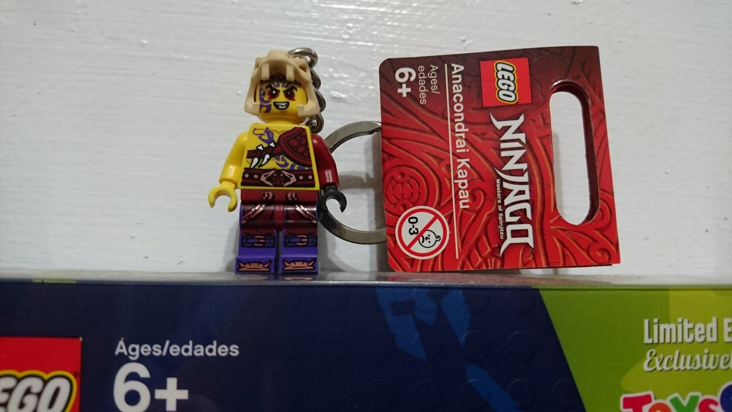 台南東區 LEGO 正版樂高 851353 Anacondrai Kapau 鑰匙圈