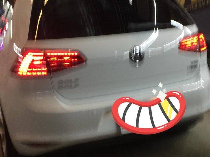 D18121612 Golf 7.5代 LED 汽車 尾燈TA-VW-008 原廠件 流水款 VW Volkswagen