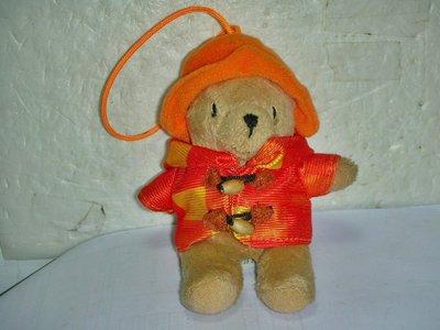 aaS1.(企業寶寶玩偶娃娃)全新2010年7-11發行Paddington Bear柏靈頓熊寶寶(美國紐約熊)絨布娃娃