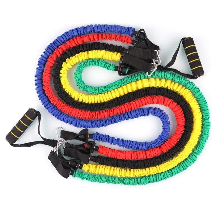 拉力器 三頭肌拉力繩健身男女彈力繩力量訓練拉力器瑜伽帶多功能加粗