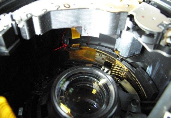 【數位達人相機維修】對焦電刷排線更換 CANON EF-S 18-55mm f3.5-5.6 IS ERR 故障訊號維修