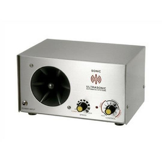 SafePRO® 超音波驅鼠器、超聲波驅蟲器-工業、倉庫用型150坪適用-台灣製造(110V)