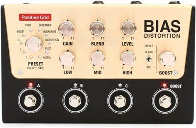【成功樂器 . 音響】Positive Grid Bias Distortion Pro 數位 效果器 破音 單顆