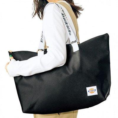 [瑞絲小舖]~日雜mini 11月號2017附錄Dickies超特大帆布托特包 肩背包 手提袋 休閒包 運動包 旅行袋