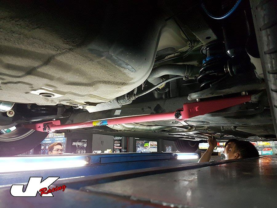 JK Racing 精品 LUXGEN U6 安裝 JK 後下扭力拉桿