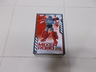 全新未開 ACTION TOYS Machine Robo 天威勇士 百變雄獅 Mixer Robo 05