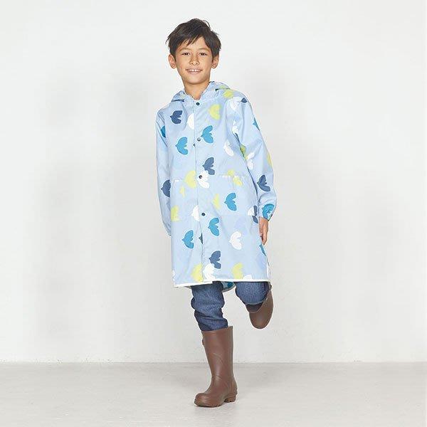 現貨!日本WPC 悠遊鳥M 空氣感兒童雨衣/防水外套 附收納袋(95-120cm)