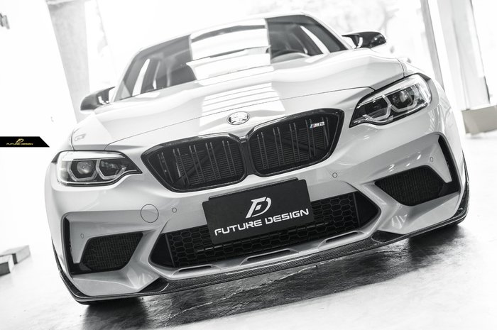 【政銓企業有限公司】BMW F87 M2C 專用 M Performance 款 高品質 抽真空 卡夢 前下巴 免費安裝