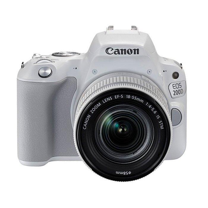 【eWhat億華】Canon EOS 200D 單機 搭 18-55MM  同日本型號 KISS X9  類 100D 平輸 繁中 白色【3】