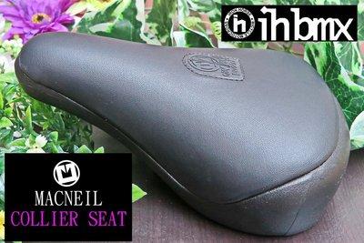 [I.H BMX] MACNEIL COLLIER SEAT 座墊 黑色 BMX地板車獨輪車FixedGear特技腳踏車場地車表演車特技車土坡車自行車下坡車