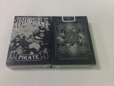 撲克牌BICYCLE Pirate 海盜 黑色