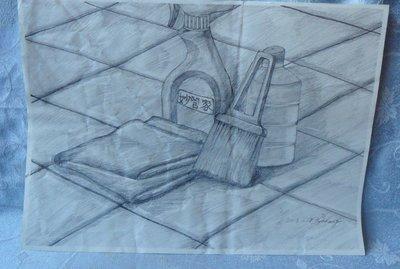 紫色小館1-1-----------鉛筆畫
