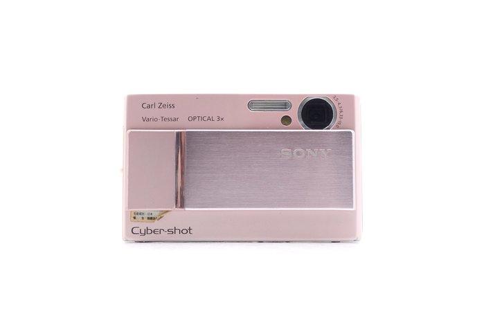【台中青蘋果】Sony Cyber-shot DSC-T10 粉 二手 數位相機 #36859