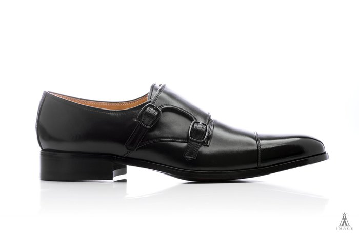 SIMPLE IMAGE(台灣製作)Leather Monk-Strap Shoes孟克鞋a421