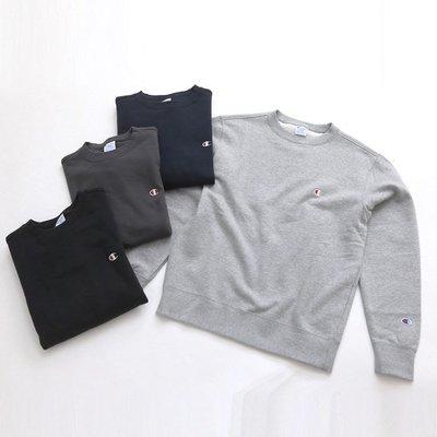 【Shopa】現貨 特價 日本 Champion Logo 經典 素面 長袖 T恤 大學T C3-C019