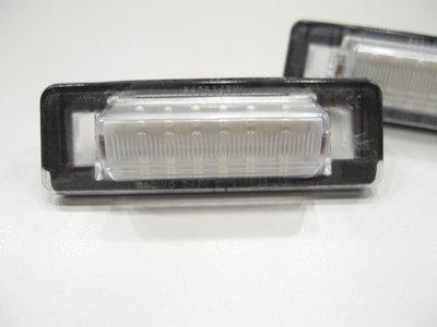 賓士BENZ E-class W210 牌照燈 車牌燈 後牌照燈
