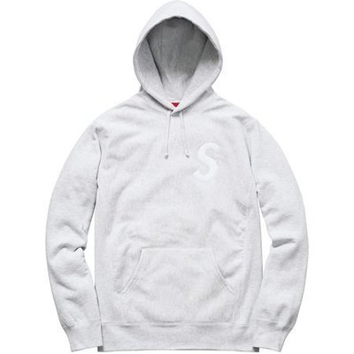 (TORRENT) 2015 Supreme S Logo Hooded Sweatshirt S M L 灰ML