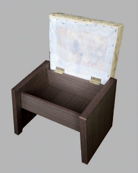 【南洋風休閒傢俱】精選時尚化妝掀椅 梳妝椅 化妝椅 設計椅-胡桃掀椅  CY300-1