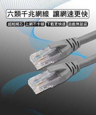 [佐印興業] 飛尼爾 CAT.6 網路線 六類千兆網路線  3M 3米 六類網線 灰色 FNR 千兆網線