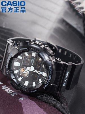 Louis手錶代購現貨GAX-100B-1A黑武士運動手錶男g shock黑暗之心限量黑金日韓腕錶