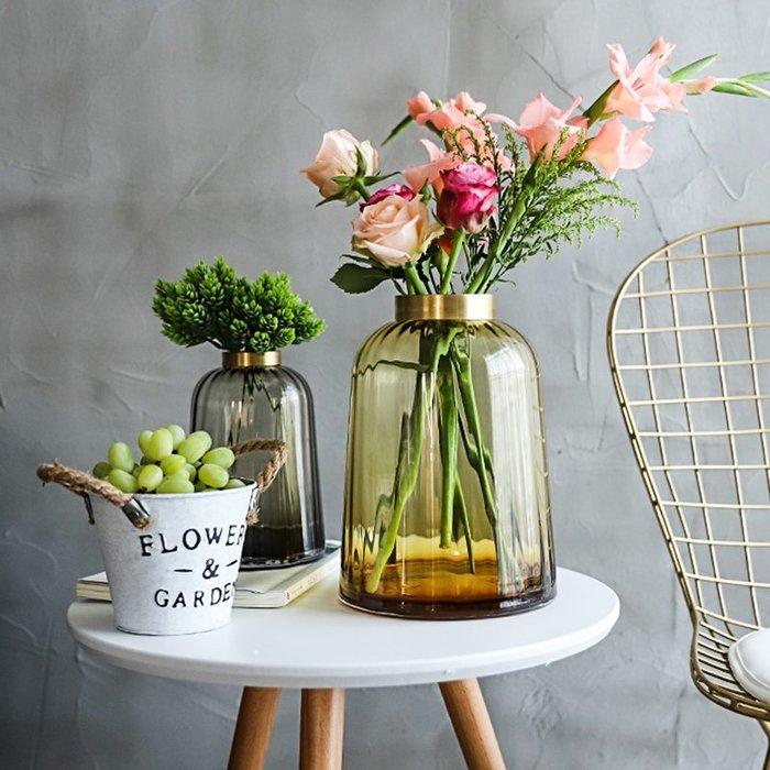 MAJPOINT*花盆 花器 花瓶 水培 植物鮮花 插花 園藝 奢華 時尚 創意 北歐現代簡約 裝潢 客廳玄關 擺設布置