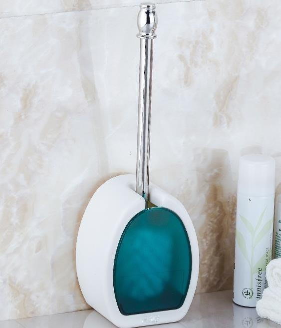 衛生間馬桶刷套裝吸壁式免打孔洗廁所刷子
