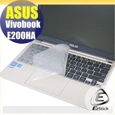 【Ezstick】ASUS VivoBook E200 E200HA 奈米銀抗菌TPU 鍵盤保護膜 鍵盤膜