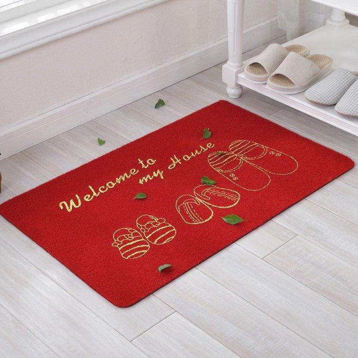小花花精貨店-多沃新品 進門口入戶地墊 門廳臥室廚房門墊子腳墊 吸水防滑墊子