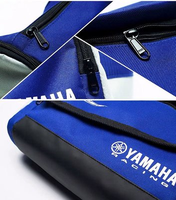 原廠Yamaha Racing腰包 車隊經理包隨身小包 摩托車騎士斜背包斜跨包斜垮包 重機車騎士腰包 運動休閒斜肩包胸包