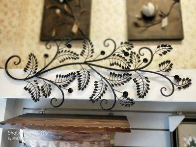 屏東易匠鍛鐵葉片壁飾,門楣,自用,送禮民宿.餐廳