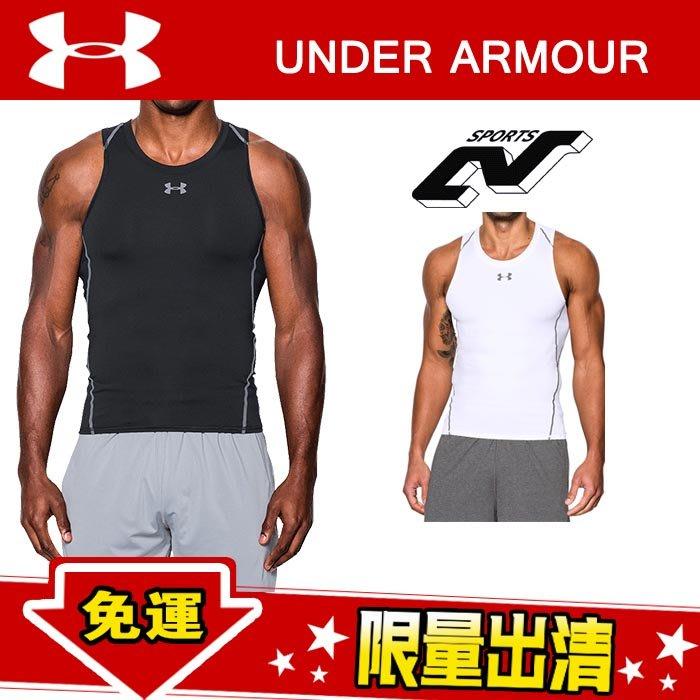 Under Armour 安德瑪 UA 背心 健身衣 緊身衣 高彈 簡約 純色