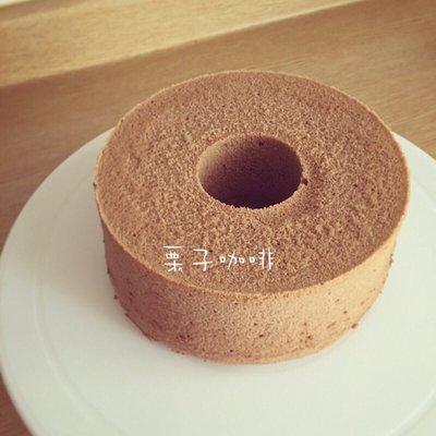 栗子咖啡館==我們有店面ㄛ^^巧克力戚風蛋糕~