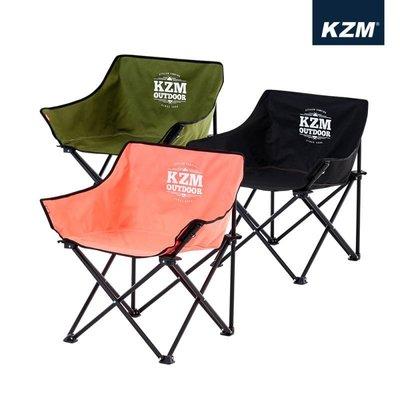丹大戶外【KAZMI】極簡時尚休閒折疊椅 三色 K9T3C002 椅子│摺疊椅│休閒椅│收納椅│露營