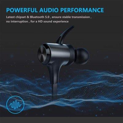 快充耳機 日本Boltune IPX7防水藍牙耳機運動無線耳機5.0 內置麥克風 CVC 8.0降噪 磁鐵 閃充