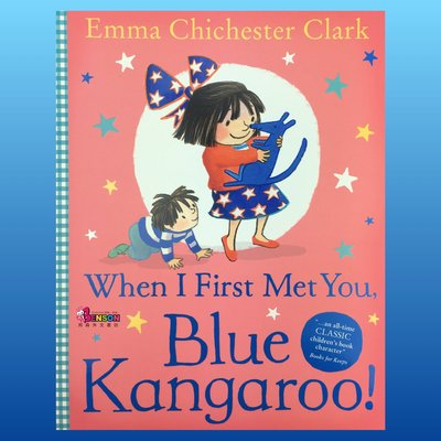 [邦森外文書] When I First Met You, Blue Kangaroo! 當我第一次遇見你~藍袋鼠平裝本