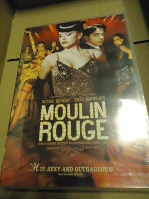 Moulin Rouge 紅磨坊 妮可基嫚 伊旺麥奎格 巴茲魯曼(大亨小傳)導演 全新未拆