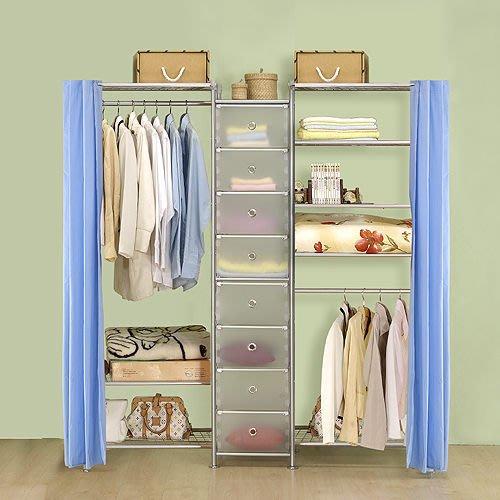 【中華批發網DIY家具】D-62B-08-W3型60+PP+W5型60衣櫥置物櫃-(前罩)不織布