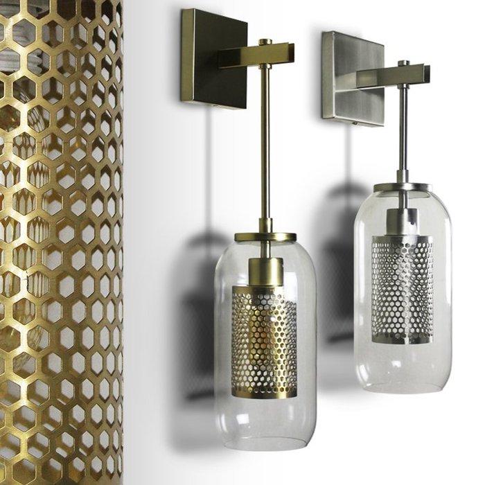 【58街】「網光影壁燈」低調奢華極致典雅品味/工程燈具/美術燈。複刻版。GK-430