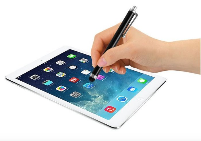 *蝶飛*精品加重 鋁合金 電容式 觸控筆 手機 平板 手寫筆 電容筆 含筆夾iPhone ipad三星asus acer