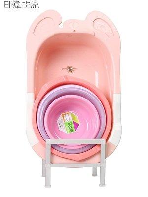 收納 浴室收納臉盆收納架子衛生間置物架放浴室盆架太空鋁廁所落地寶寶洗澡盆架