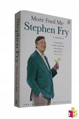 [文閲原版]史蒂芬·弗萊自傳 愚人自娛 英文原版 人物傳記 More Fool Me Stephen Fry Penguin